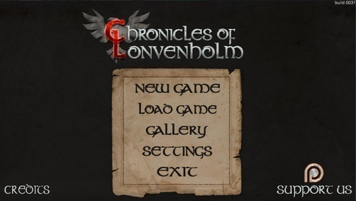 Chronicles of Lonvenholm, version Alpha 0.3a
