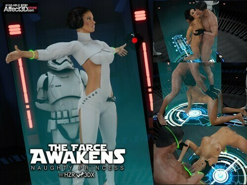 HZR ? The Farce Awakens Naughty Princess (Star Wars)
