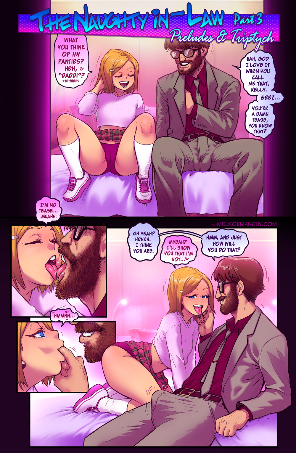 MelkorMancin ? Naughty In-Law Part 3 [Complete]