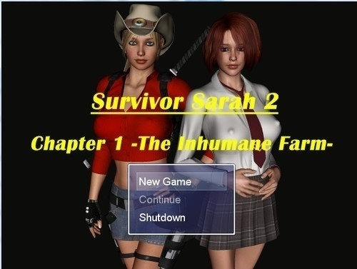 Survivor Sarah 2 Part 1 - The Inhumane farm, version 1.03