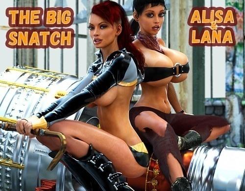 Smerinka - The Big Snatch (Alisa and Lana)