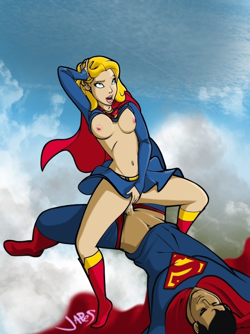 Supergirl sex fanfiction