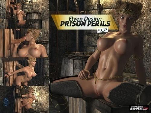 HitmanX3Z - Elven Desire: Prison Perils 1-2