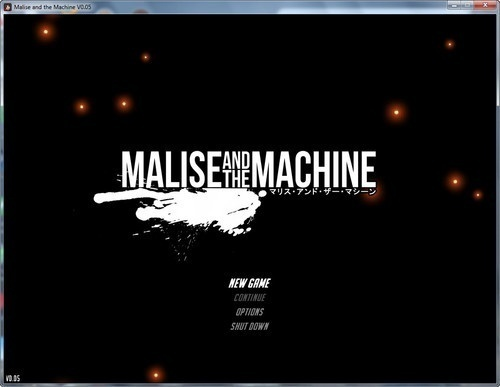 Malise and the Machine – Version 0.03 + 0.05