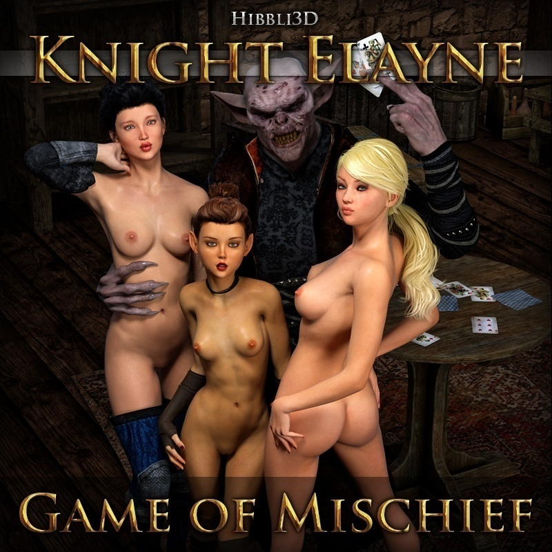 Hibbli3D ? Knight Elayne Game Of Mischief