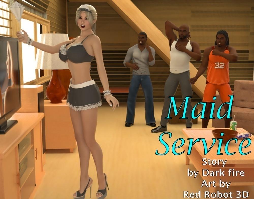 BlackNwhiteComics – Maid Service