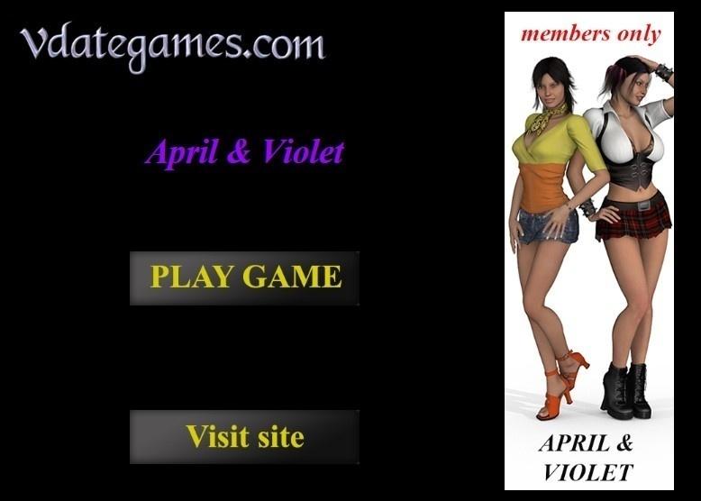 VDateGames ? April and Violet : Full Version