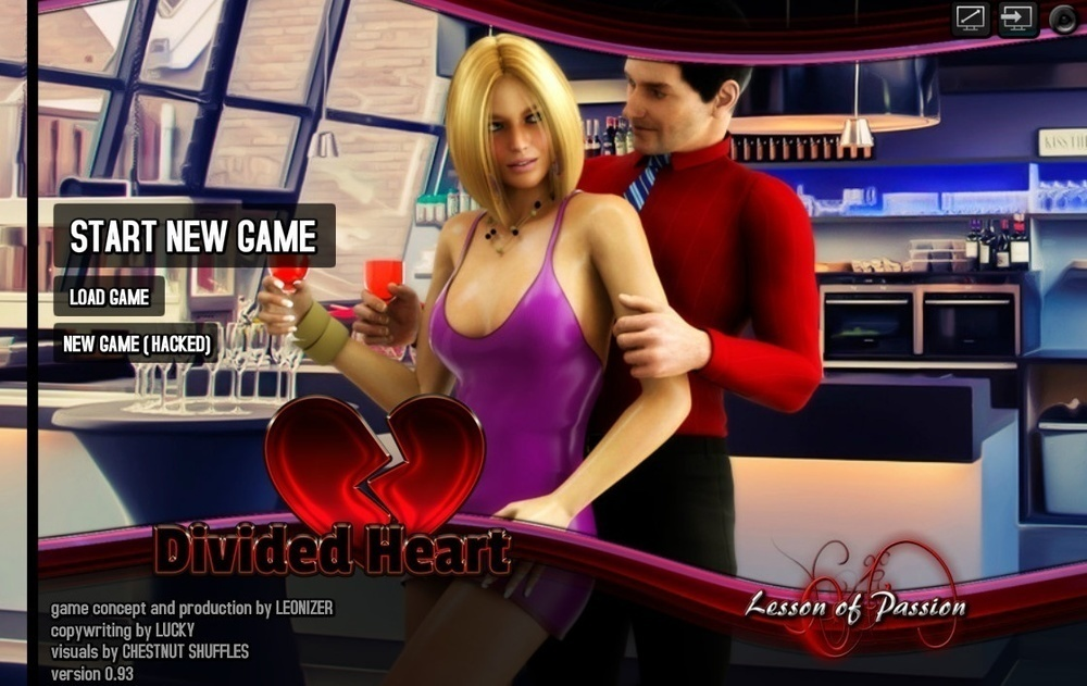 Divided Heart – Version 0.93 [Hacked]