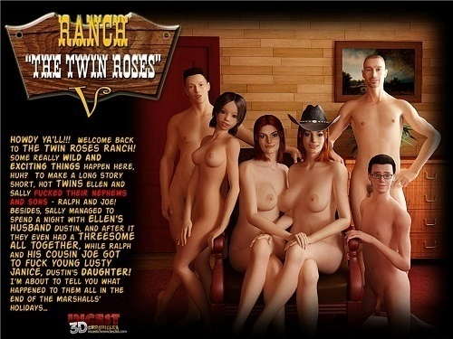 Ranch the Twin Roses 1-5