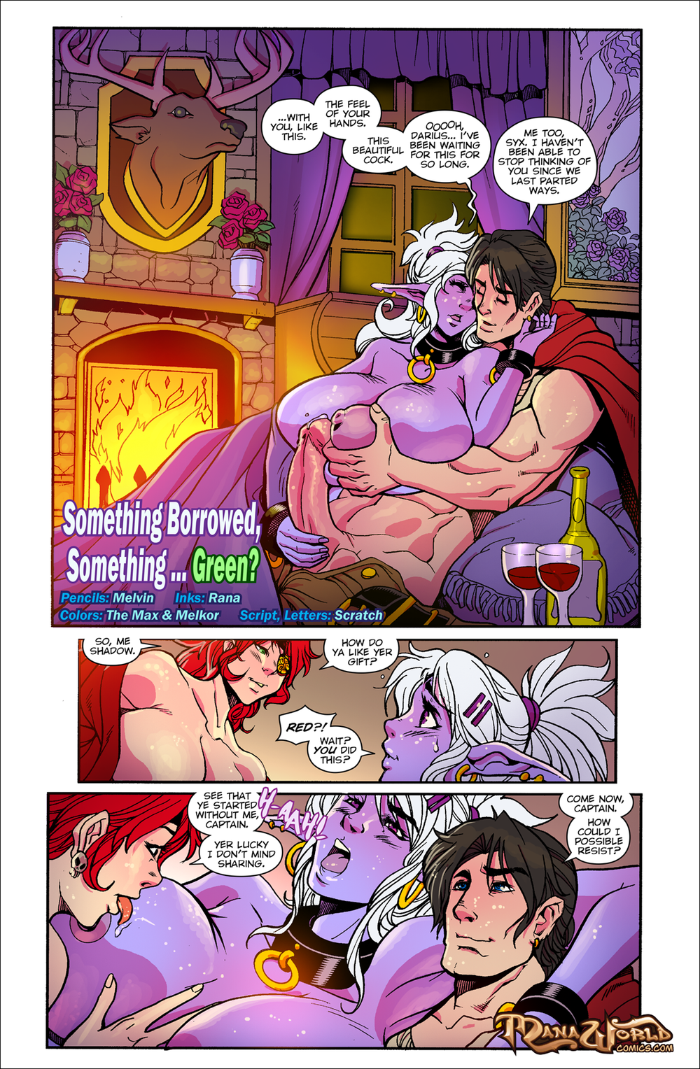 ManaWorldComics ? Chapter 17 ? Something Borrowed, Something Green
