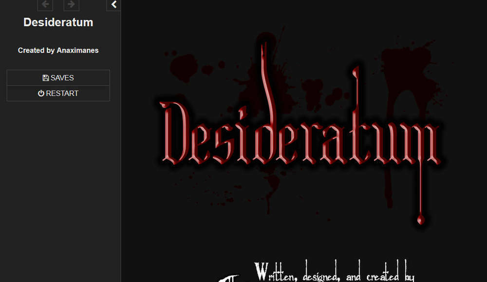 Desideratum – Demo Version