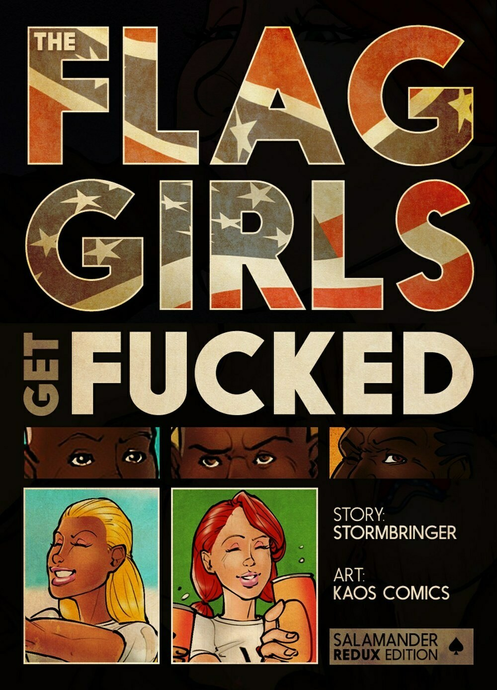 Kaos ? Flag Girls Get Fucked (Original) - Update - 58 Pages