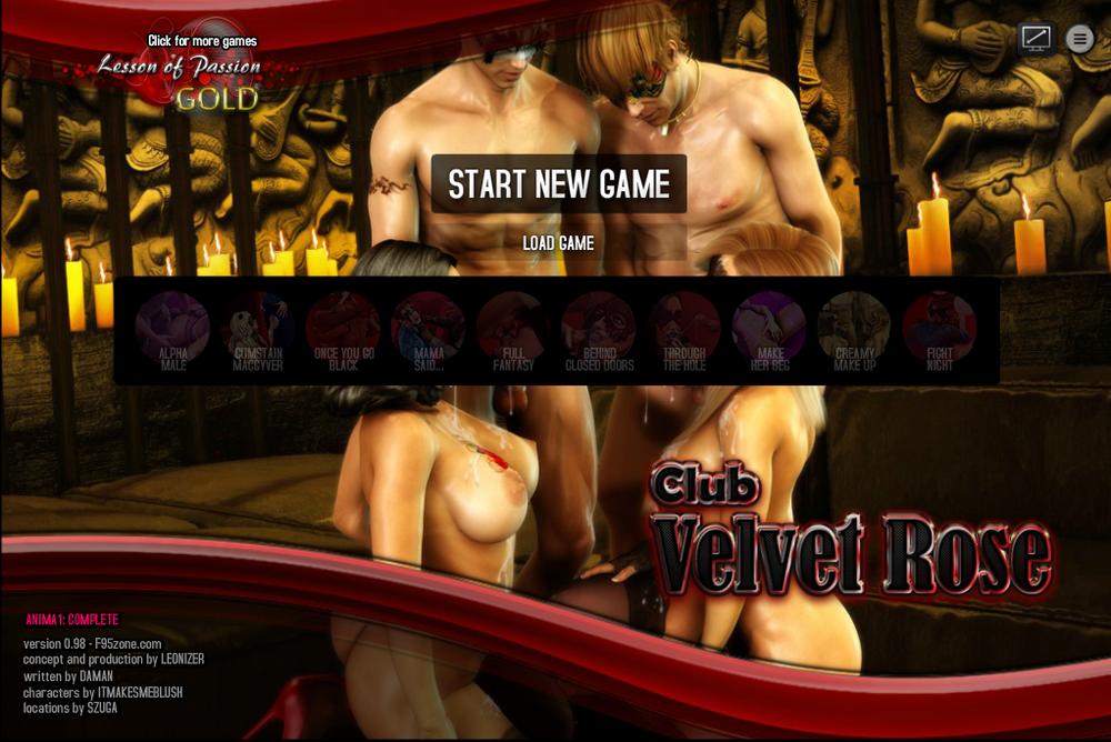 Club Velvet Rose - Version 0.98 + Cheats [Update]