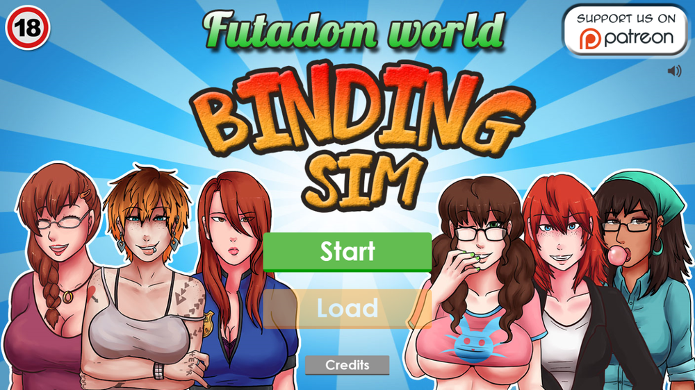 Futadomworld The Game - Binding Sim - Version 0.1a