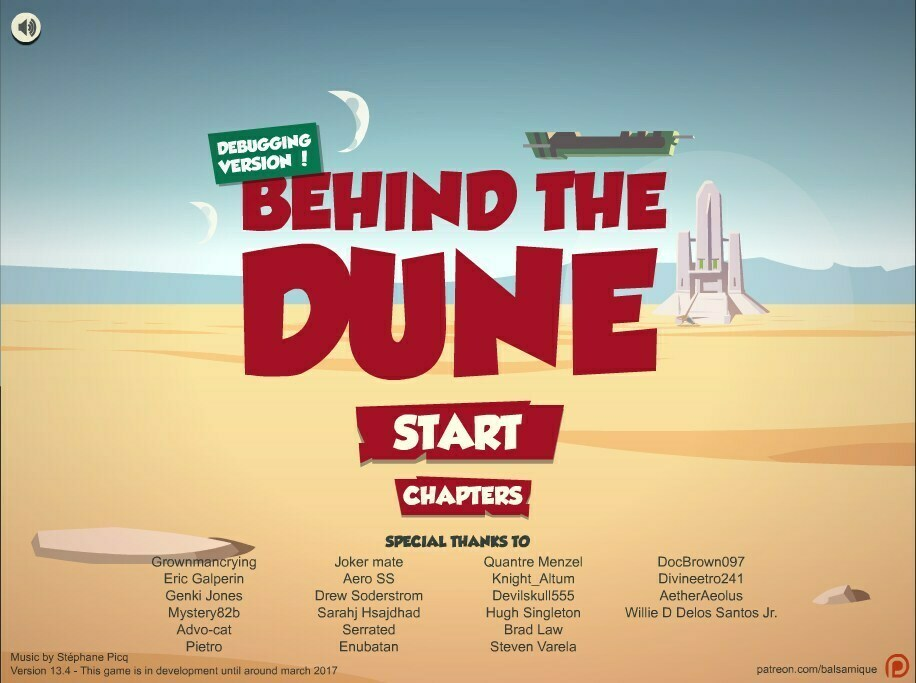 Behind the Dune – Version 14 – Update