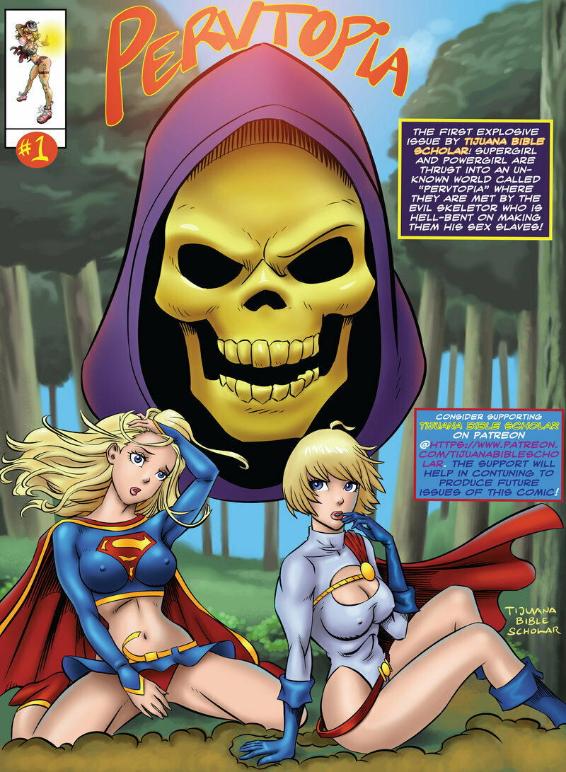 Tijuana Bible Scholar - Pervtopia (Supergirl)