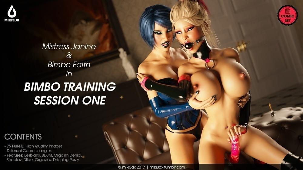 Miki3DX ? Bimbo Training Session One