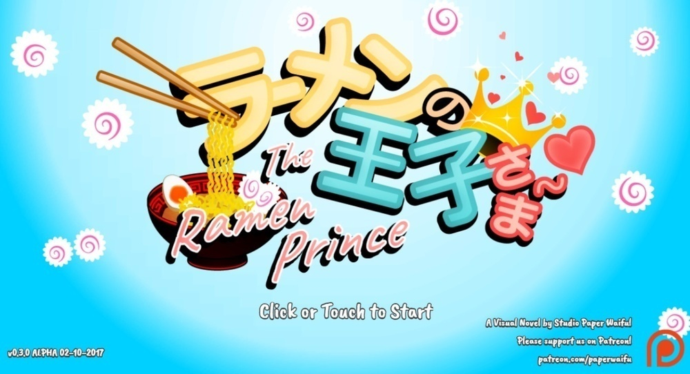 The Ramen Prince – Version 0.30