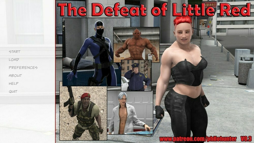 The Defeat of Little Red – Version 0.3 – Update
