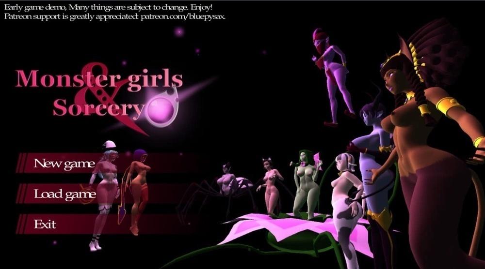 Monster Girls & Sorcery Demo – Version 0.1
