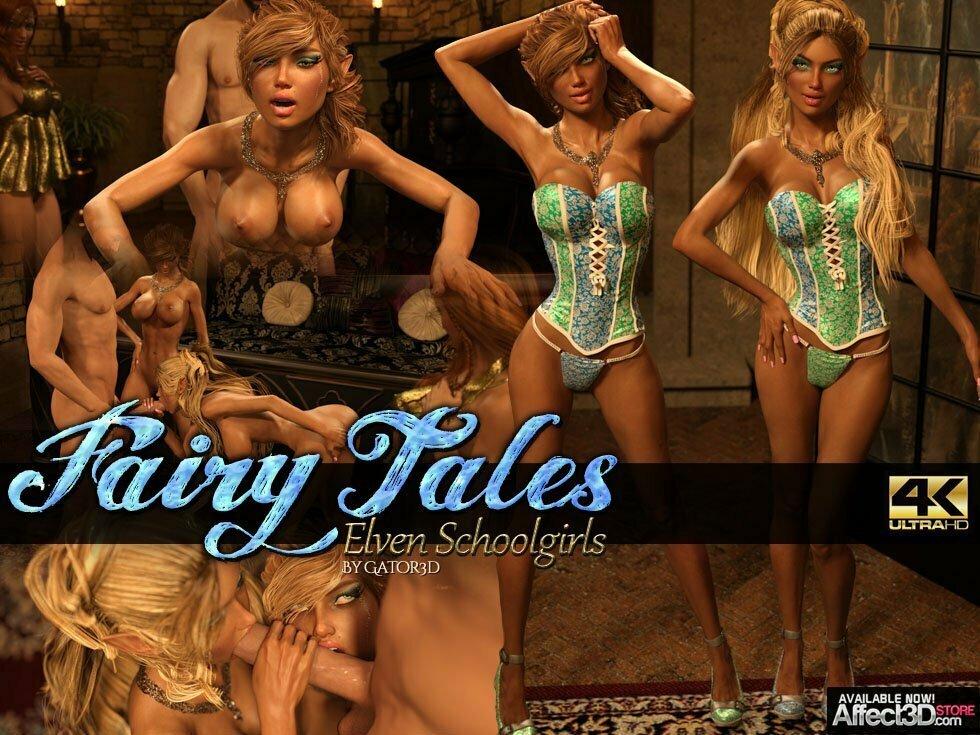 Gator3d - Fairy Tales ? Elven Schoolgirls