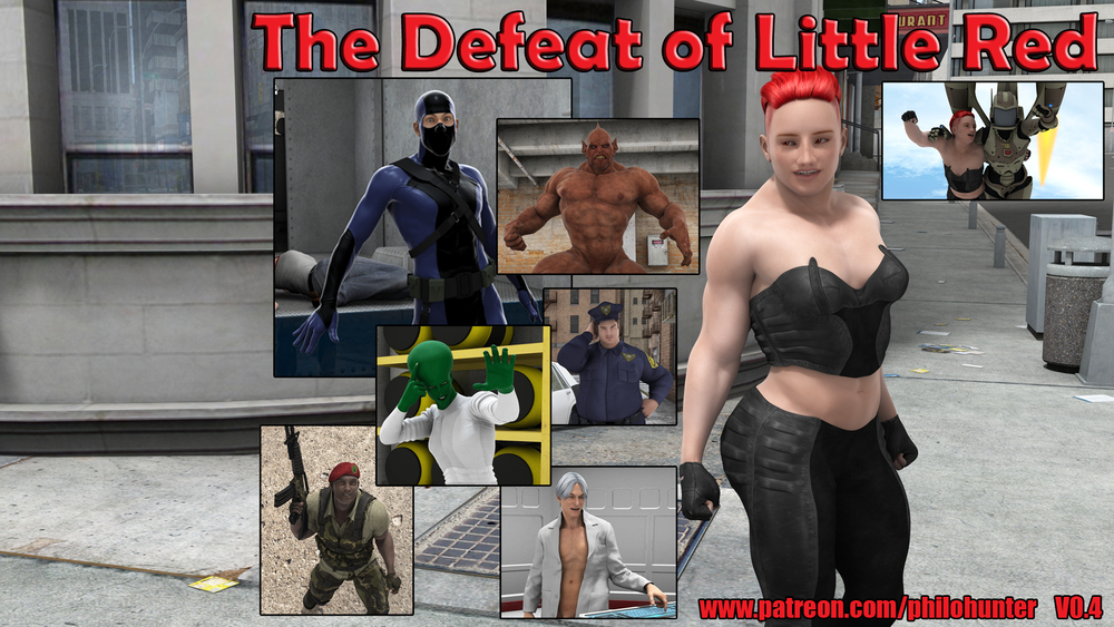 The Defeat of Little Red – Version 0.4 – Update