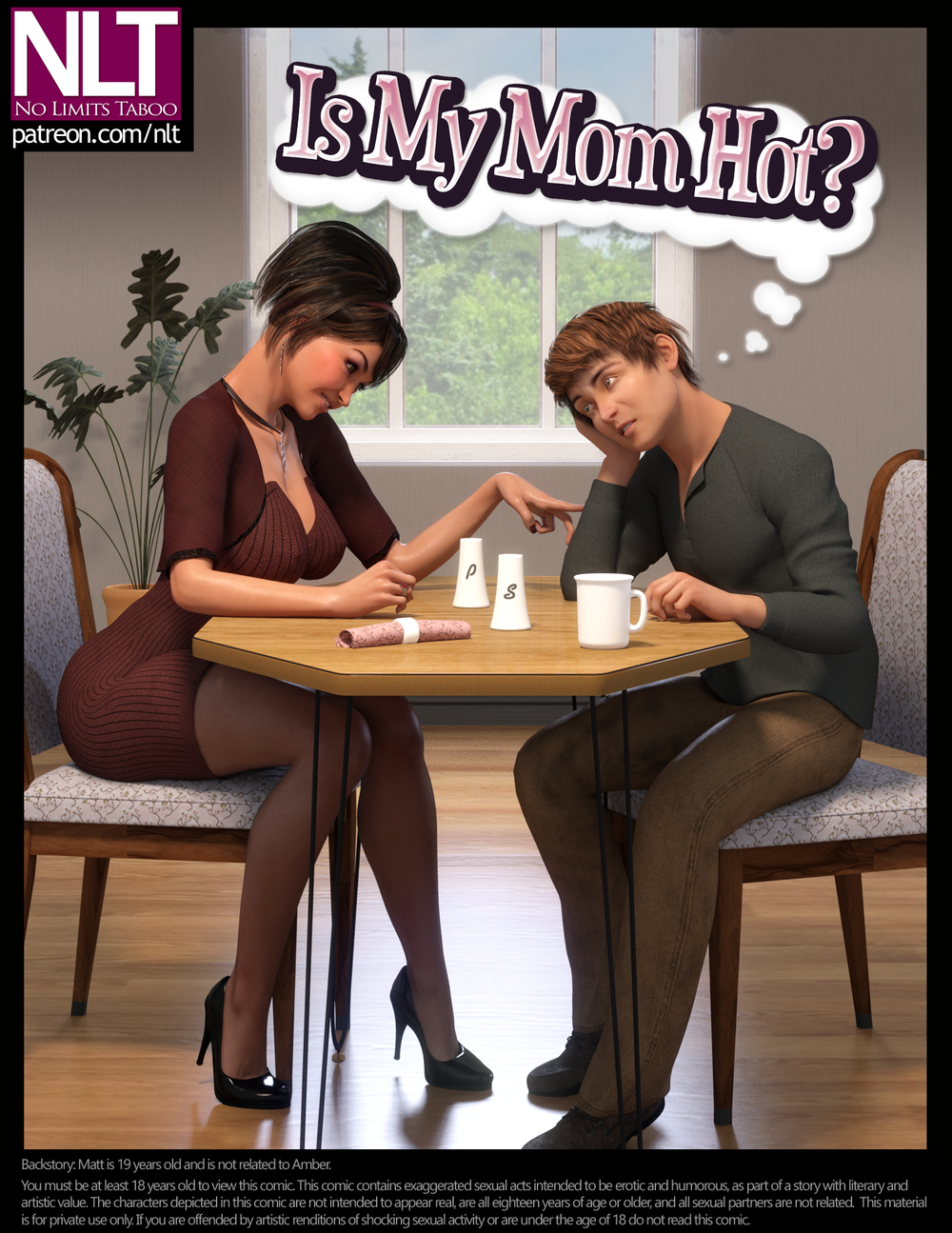 NLT Media – Is My Mom Hot? - Complete - 48 Pages