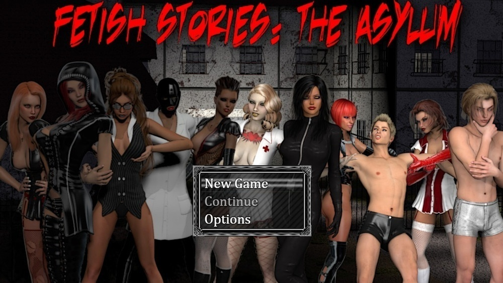 Fetish Stories: The Asylum – Day 3 – Version 1.2 – Update