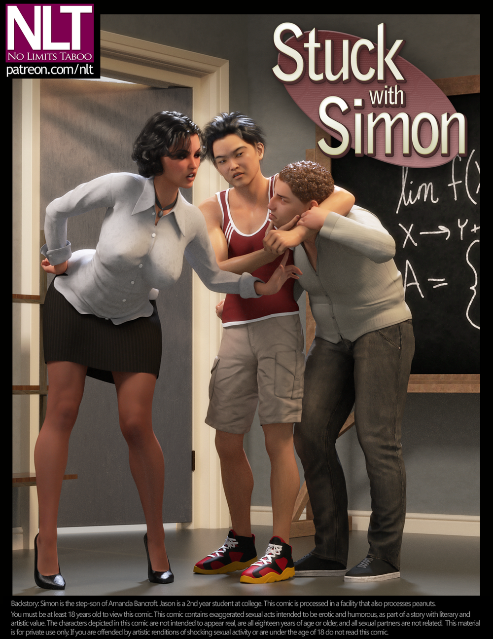 NLT Media – Stuck With Simon - 34 Pages - Update