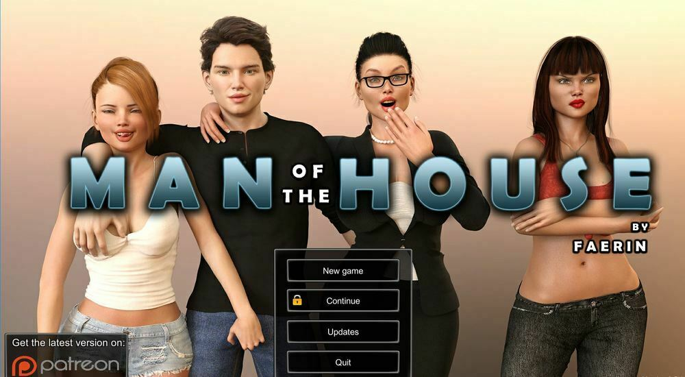 Man Of The House – Version 0.8.5b Extra & Incest Patch – Update