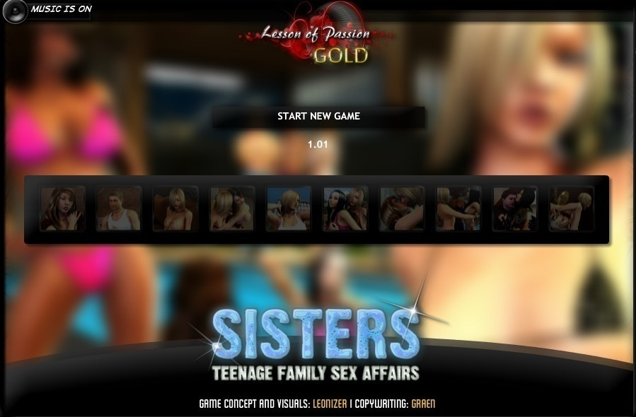 Sisters Teenage Family Sex Affair – Version 1.01