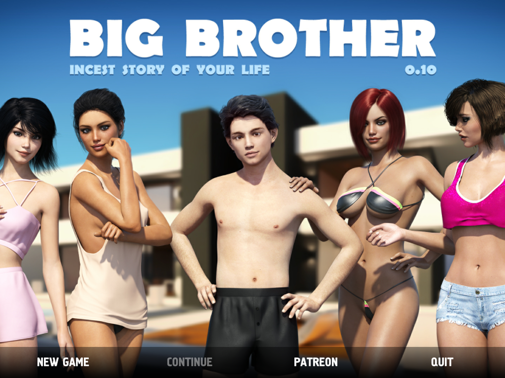 Big Brother –  Version 0.10.0.004 + Mod + Seduction Mod 0.2.4c + A Shopping Adventure – Update