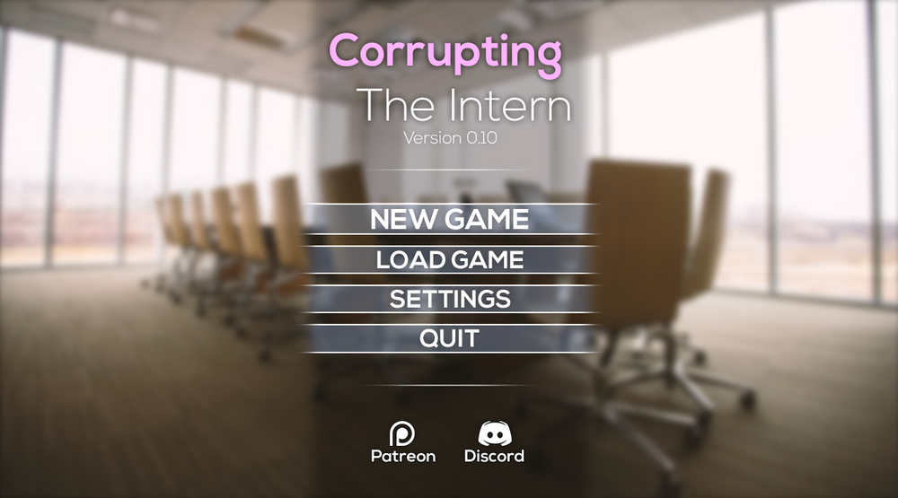 Corrupting The Intern - Version 0.19 - Update