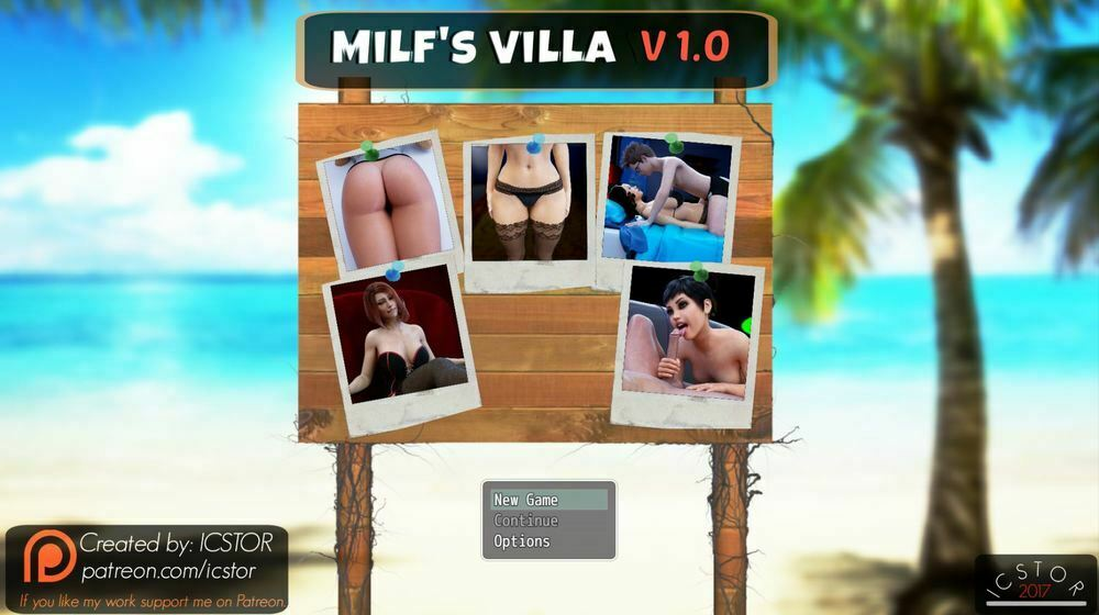 Milf's Villa – Episode 1-4 – Version 1.0 – Update