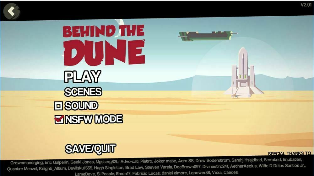 Behind the Dune – Version 2.03 – Update