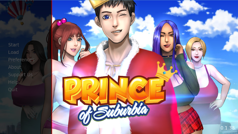 Prince of Suburbia – Version 0.5 – Update