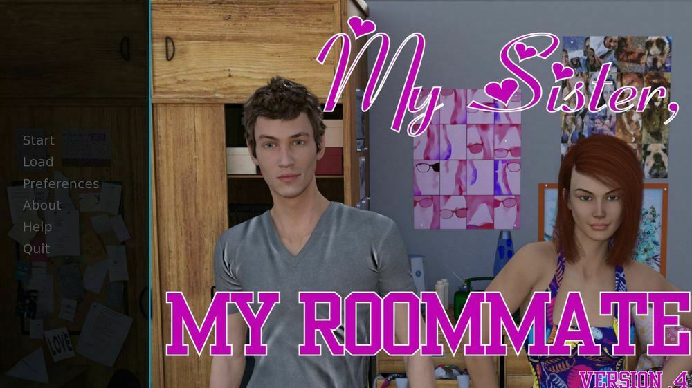 My Sister, My Roommate – Version 1.69 & Incest Patch – Completed