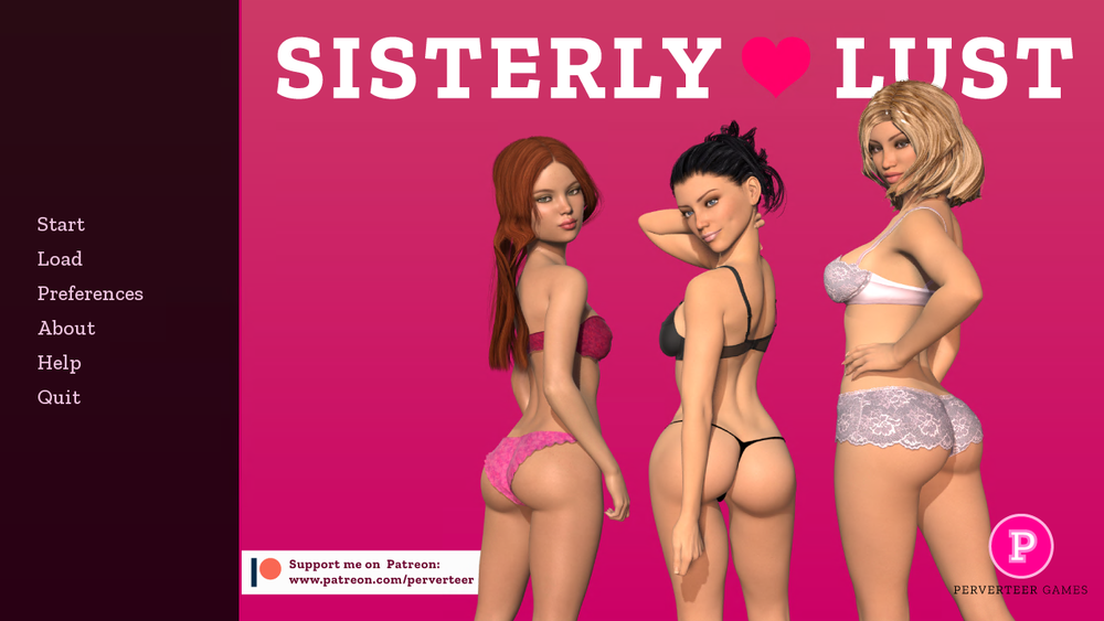 Sisterly Lust – Version 1.0 Extra Scenes & Incest Patch – Completed