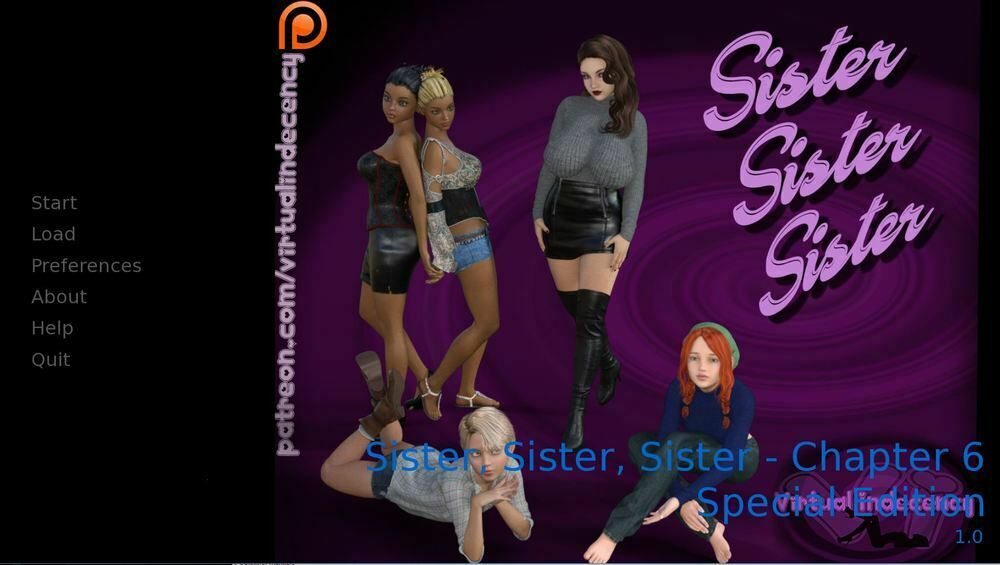 Sister, Sister, Sister – Chapter 15 SE – Completed + Walkthrough