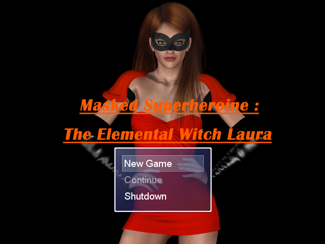 Masked Superheroine: The Elemental Witch Laura - Version 0.01