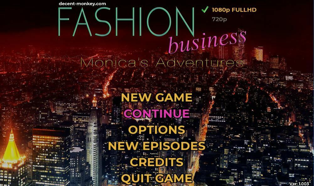 Fashion Business: Monica's Adventures – EP1 Version 0.3