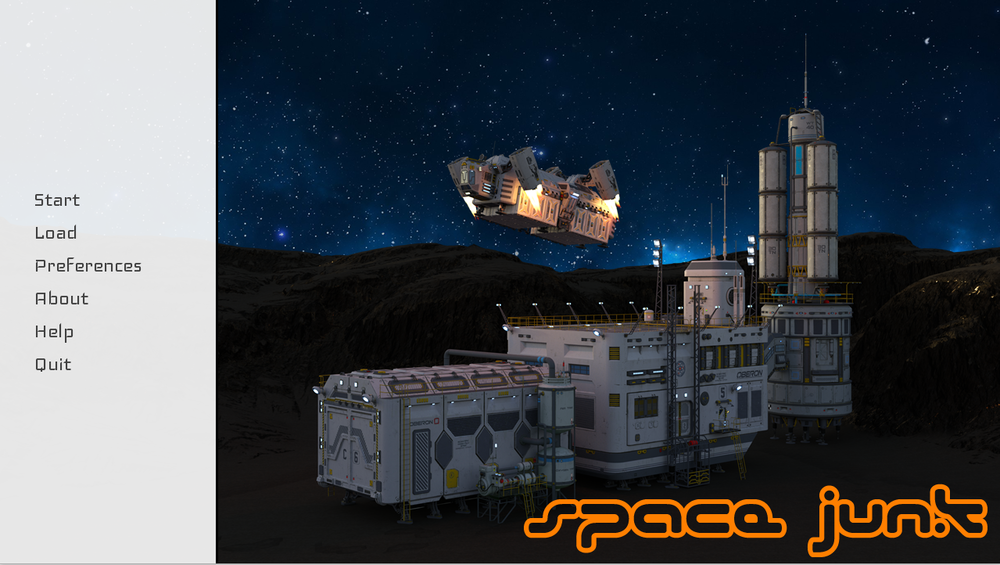 Space Junk – Version 0.1 – Update