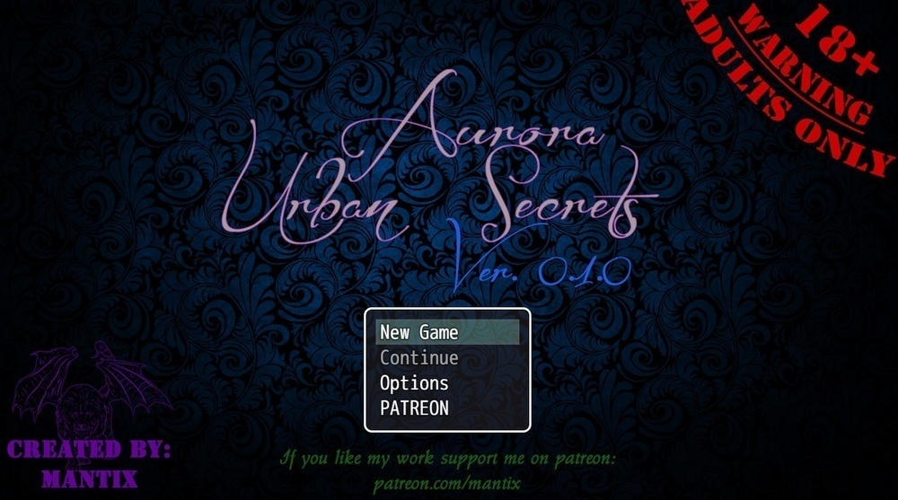 Aurora: Urban Secrets – Version 0.2.1 – Update