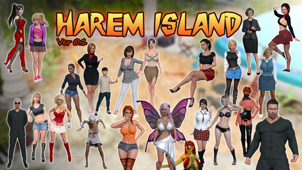 Harem Island – Version 1.0a – Completed