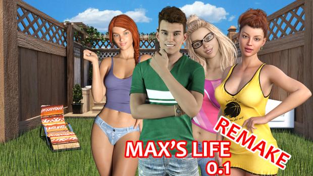 Max's Life - Remake Version 0.3 & Walkthrough - Update