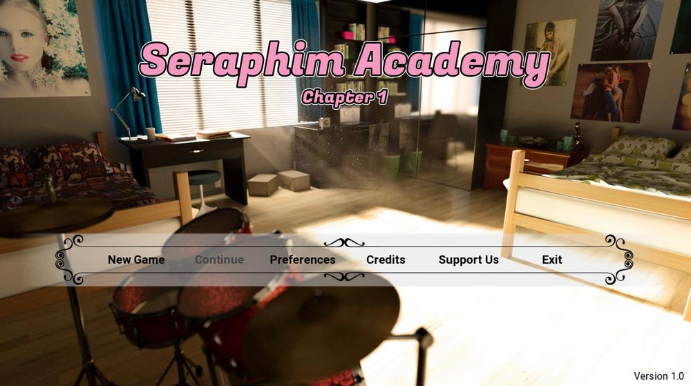 Seraphim Academy - Ch1-3