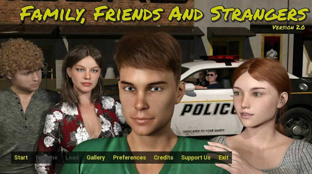 Family, Friends and Strangers - Version 9.0