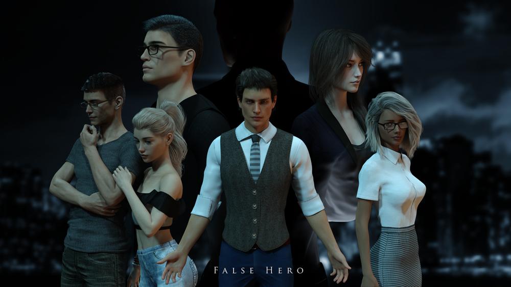 False Hero - Version 0.35 - Update