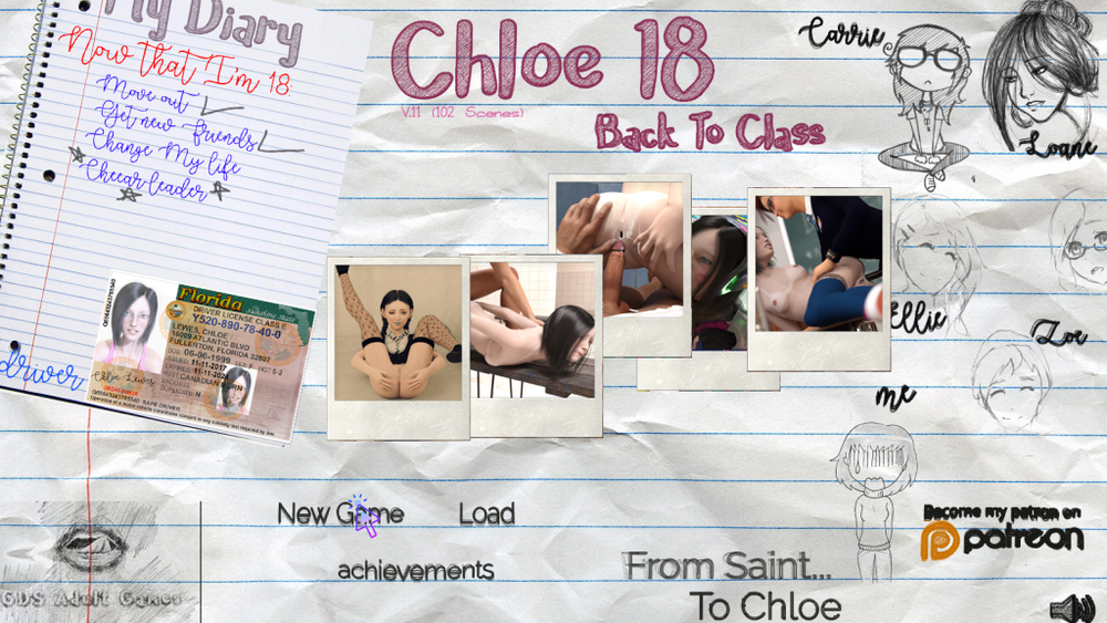 Chloe18 - Back To Class - Version Full - Complete
