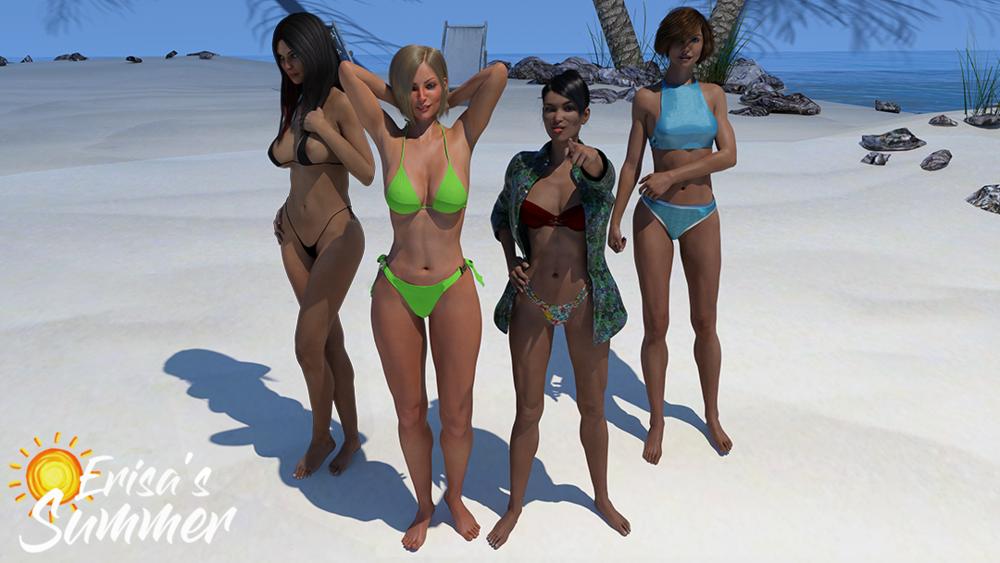 Erisa's Summer - Version 0.5.0 - Update